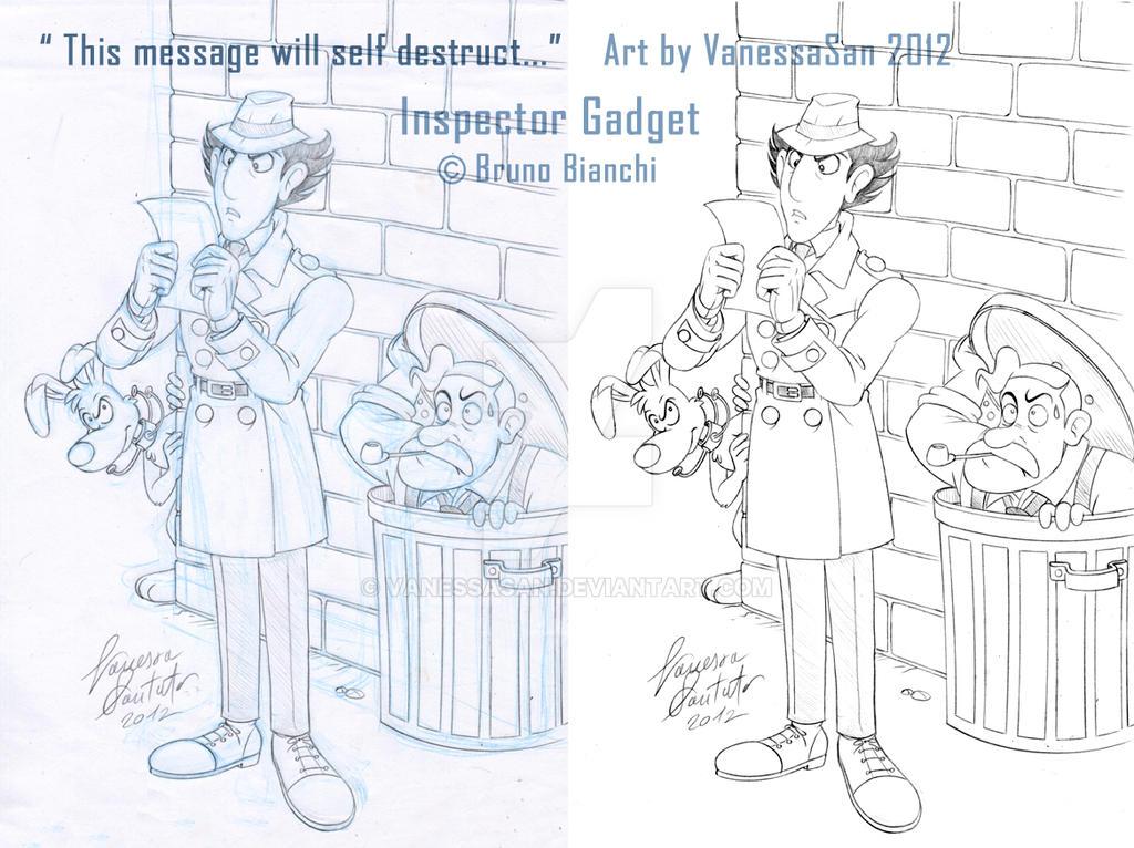 Inspector Gadget by vanessasan