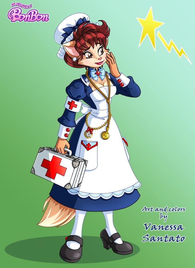 FurVanessa Victorian Nurse by vanessasan