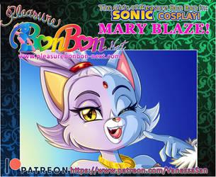 Mary Blaze cosplay! by vanessasan