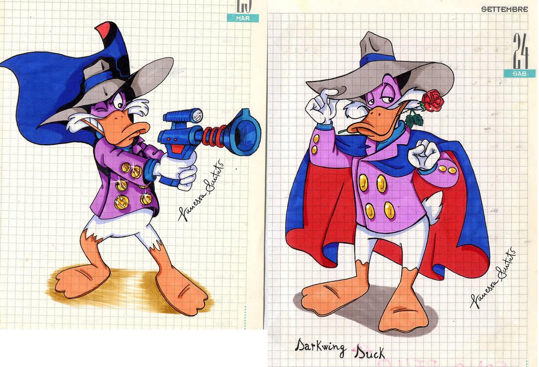 Darkwing Duck 1994 by vanessasan