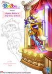Patreon Reward Strip Tease PDF Artbook