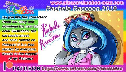 Rachele Raccoon 2019