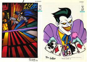 Batman and Joker from 90s