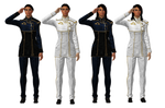 Ashley Williams Dress Blues/Whites [meshmods]