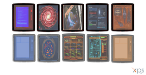 Mass Effect 3 Datapads for XPS