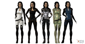 ME3 Miranda Lawson (+ extra outfits) for XPS