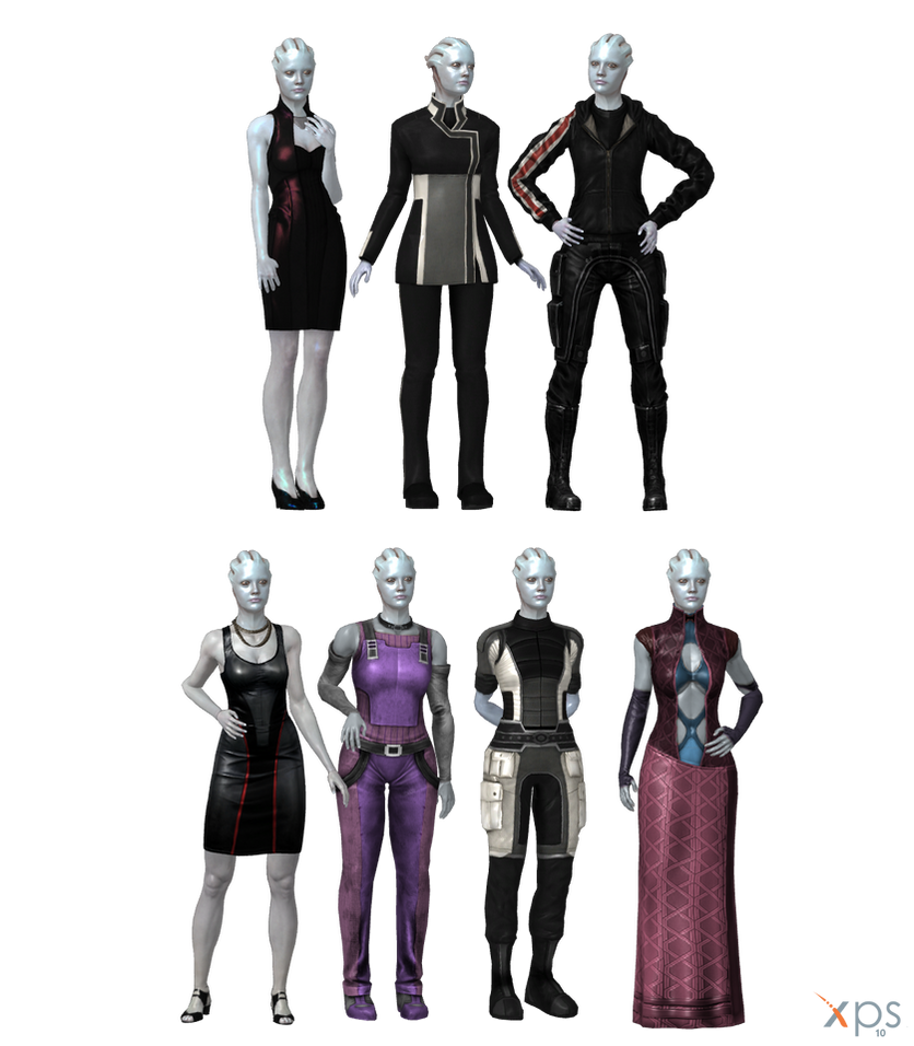 Casual Asari for XPS by Just-Jasper