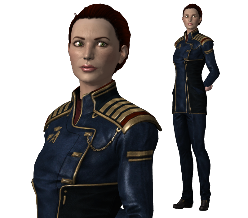 Rear Admiral Hannah Shepard (mother) For XPS By Just