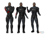 Default Manshep in ME1 N7 Armours for XPS