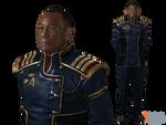 David Anderson Admiral Uniform for XPS