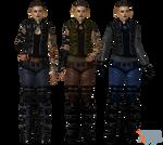 ME3 Jack ME2 DLC Outfit plus Alternatives for XPS