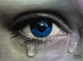 TEARY EYE by Rodelrosario