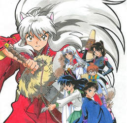 Inuyasha by animeartist67