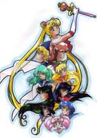 Sailor Moon by animeartist67