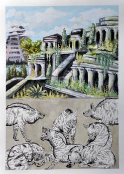 #3 Gardens of Babylon and Striped Hyenas