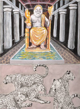 #4 Statue of Zeus and Anatolian Leopards