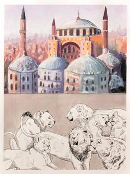 #6 Hagia Sophia and Asiatic Lions
