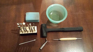 Tools i use for stamping