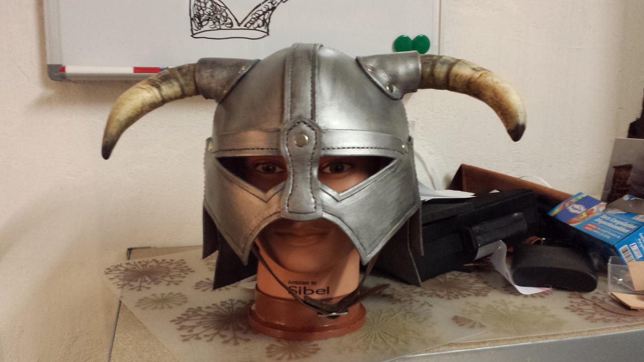Helmet done, with full paint on it
