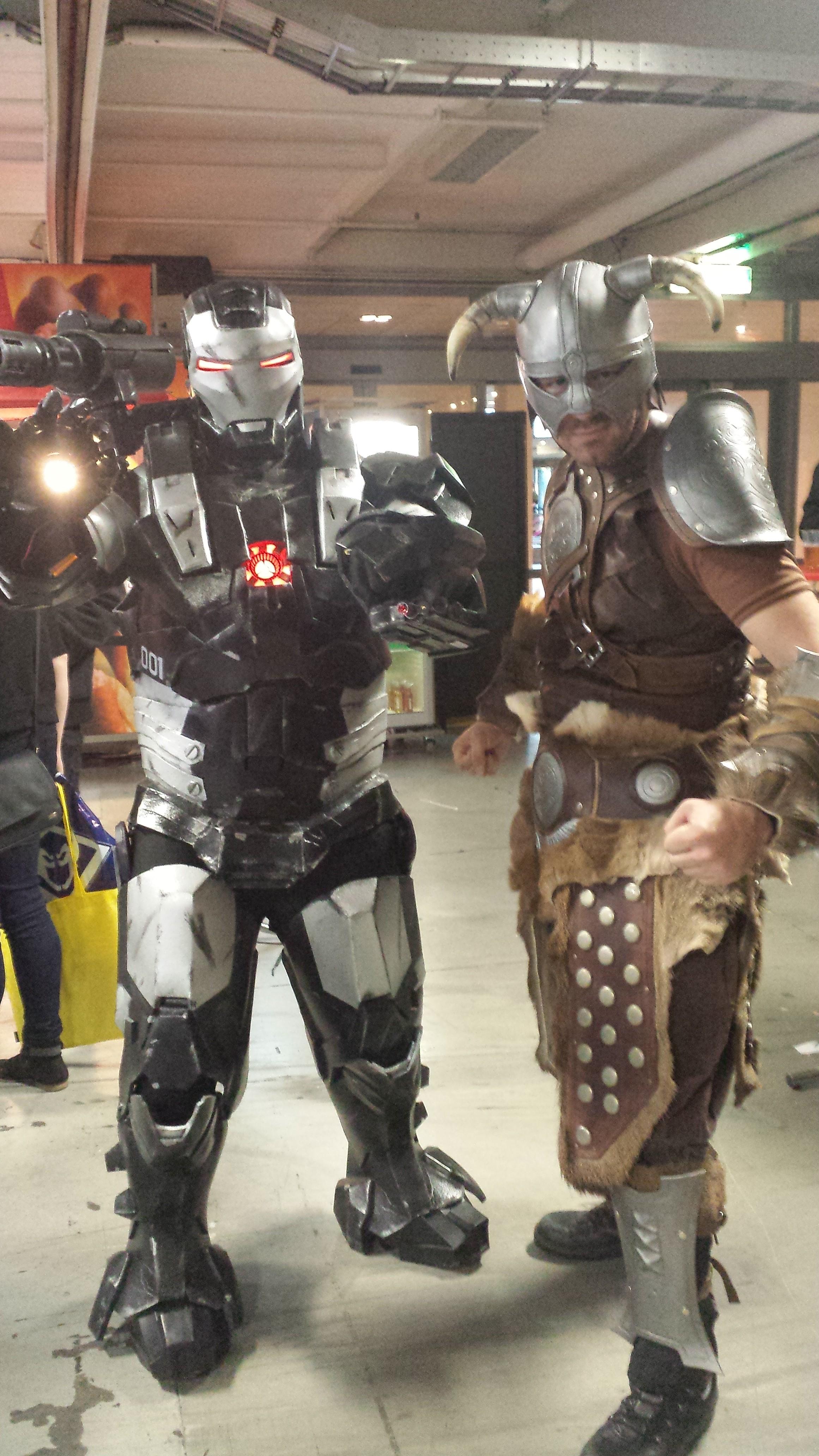 Fully done Dragonborn armor