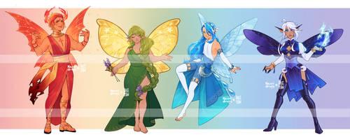 [A] Fairy Collab with Aketan! - CLOSED