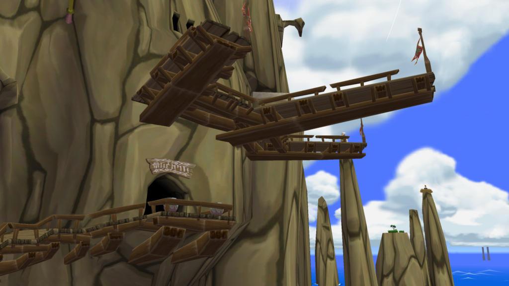 Wind Waker Sightseeing - Dragon Roost Island by iamYORGOS