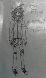 Kurai Kazuma (My Danganronpa Original Character) by vrikolas