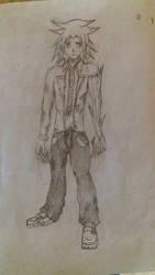 Nero Shirogi (Future Game's Main Character) by vrikolas