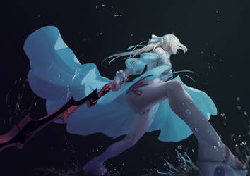 Summer Nero by MintBreakArt