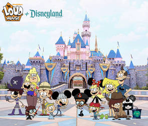 The Louds Family Photo at Disneyland!