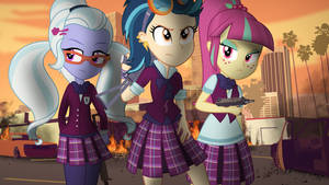 [Equestria Girls] Extermination by VBASTV