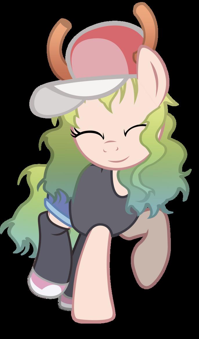 Lucoa Pony (Kobayashi Miss Maid Dragon) by VBASTV