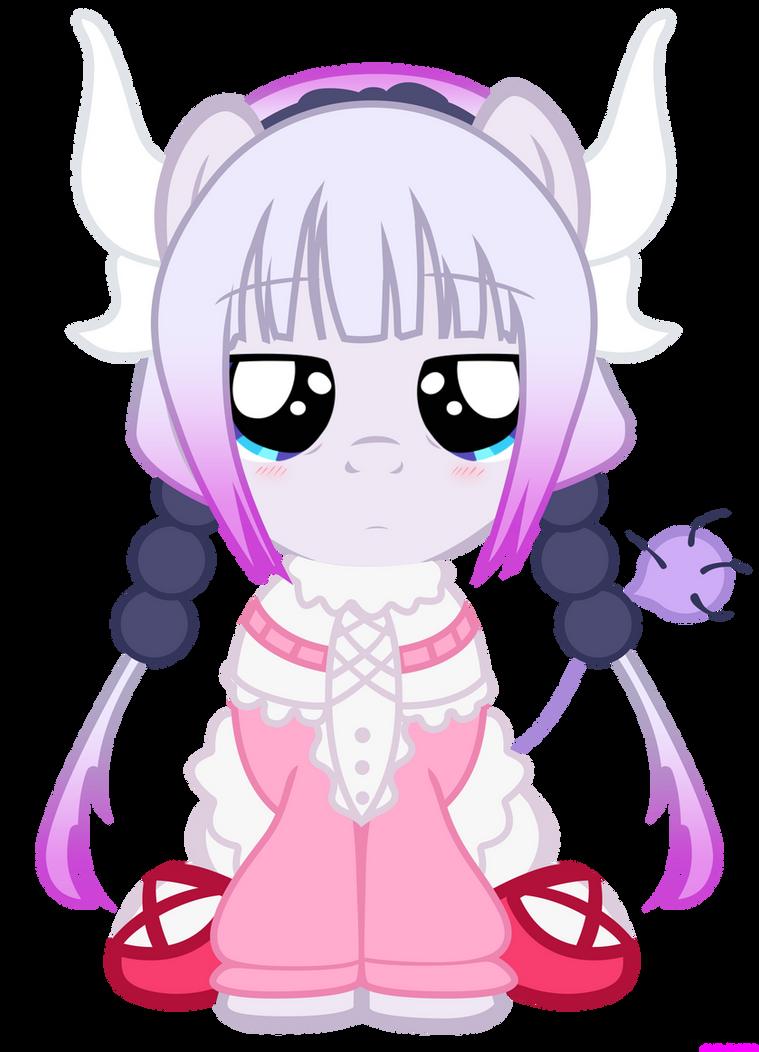 Kanna Pony (Kobayashi Miss Maid Dragon) by VBASTV