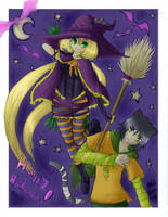 Happy Halloween 2010 by nikkibuu