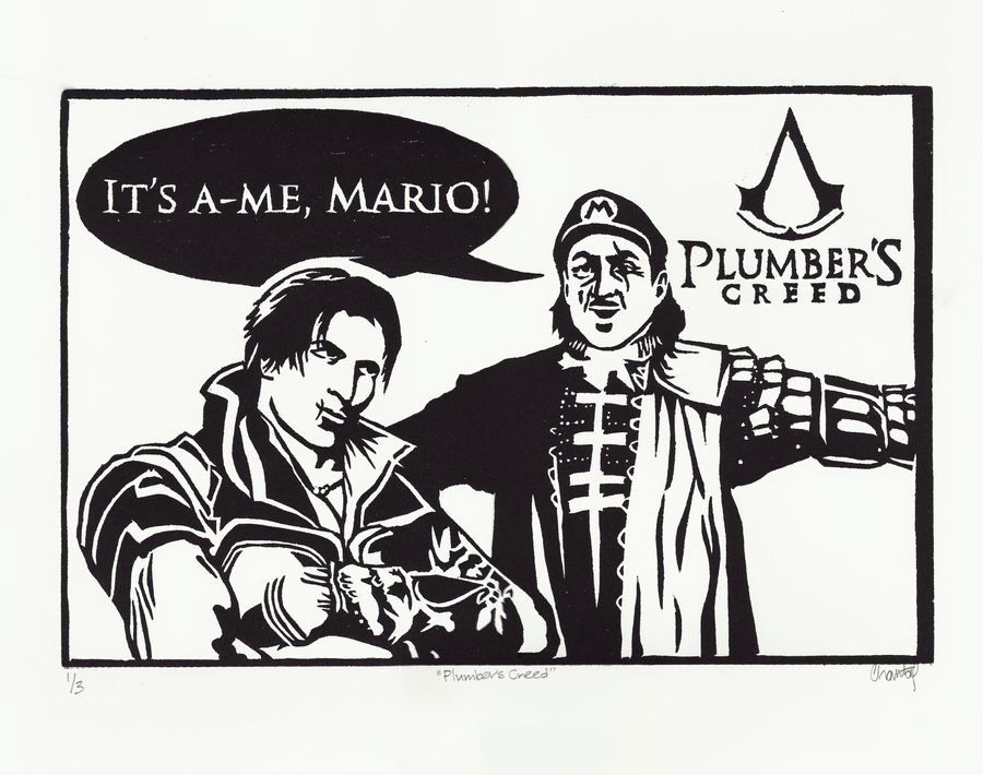 Plumber's Creed by guptillc