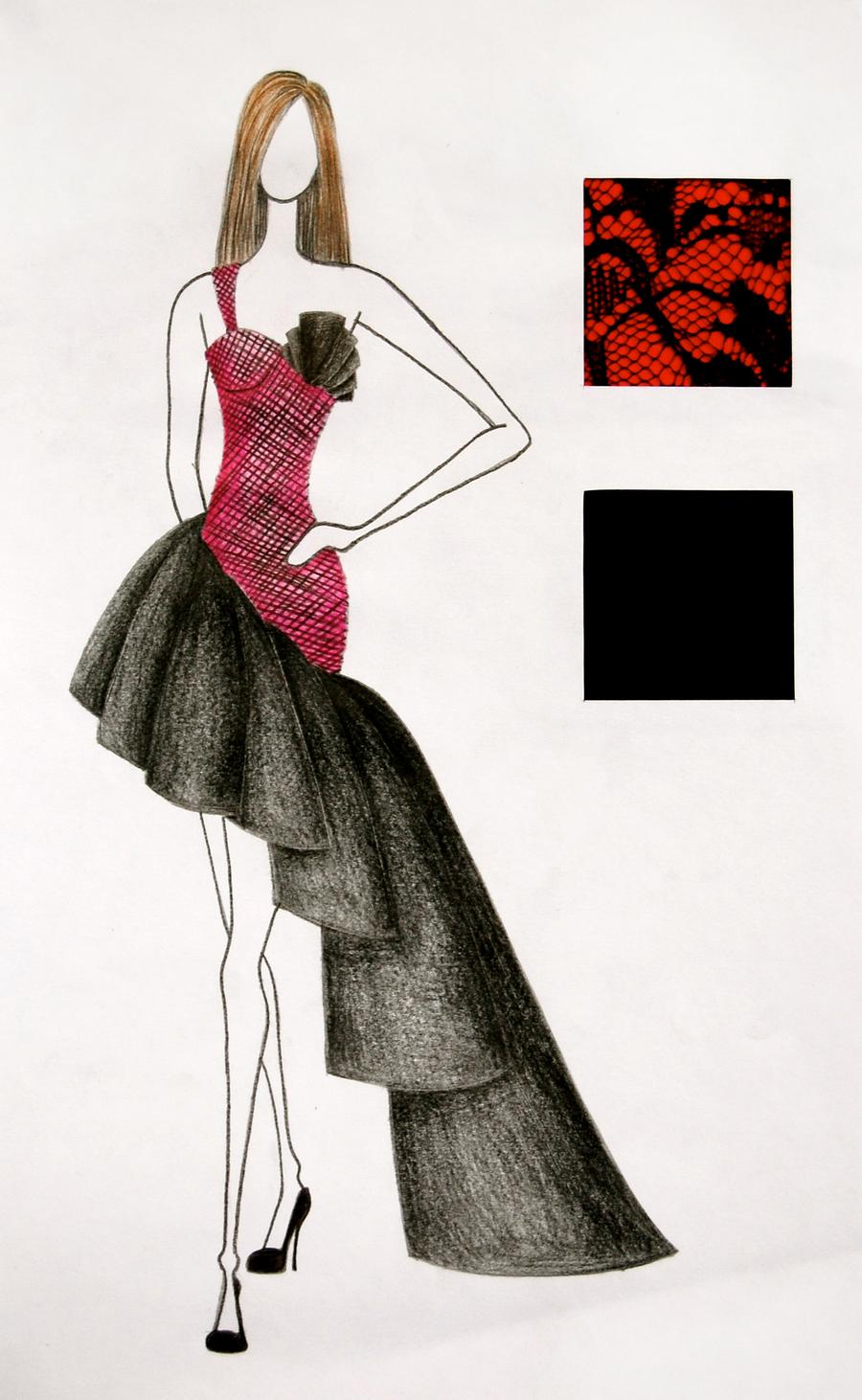 fashion sketch 11 by guptillc on deviantart