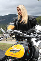 Stock girl with Motorcycle by DeadEyeStock