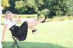 stock Blonde  Floating sitting