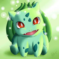 Cute Bulbasaur by Eli150693