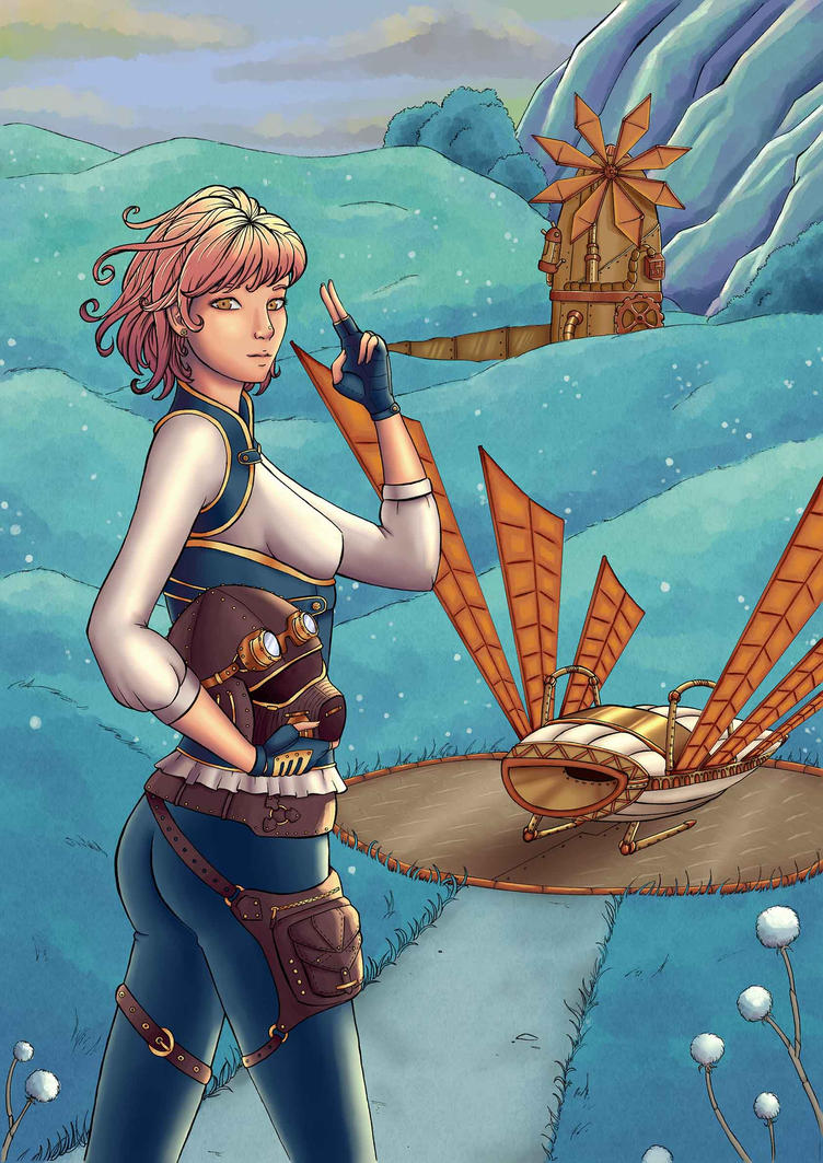 Nausicaa Steampunk Color by Eli150693