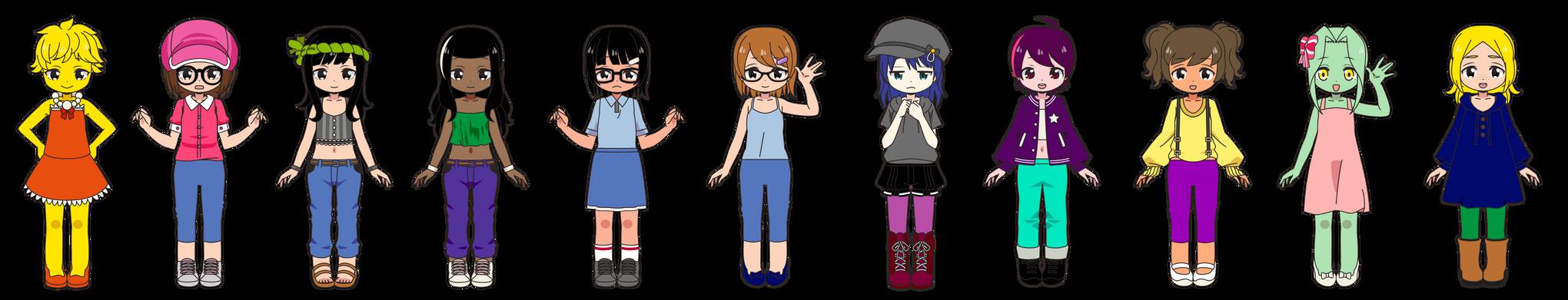 Girls of Animation Domination 2021