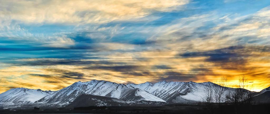 Lake Tekapo Skies by JacquelineBarkla