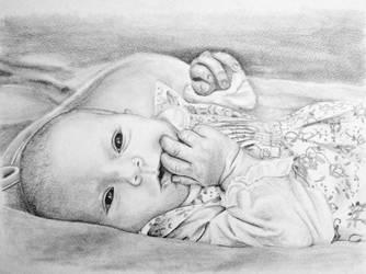Baby Amelie by teedark