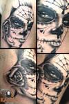 Dia de los muertos tattoo by teedark