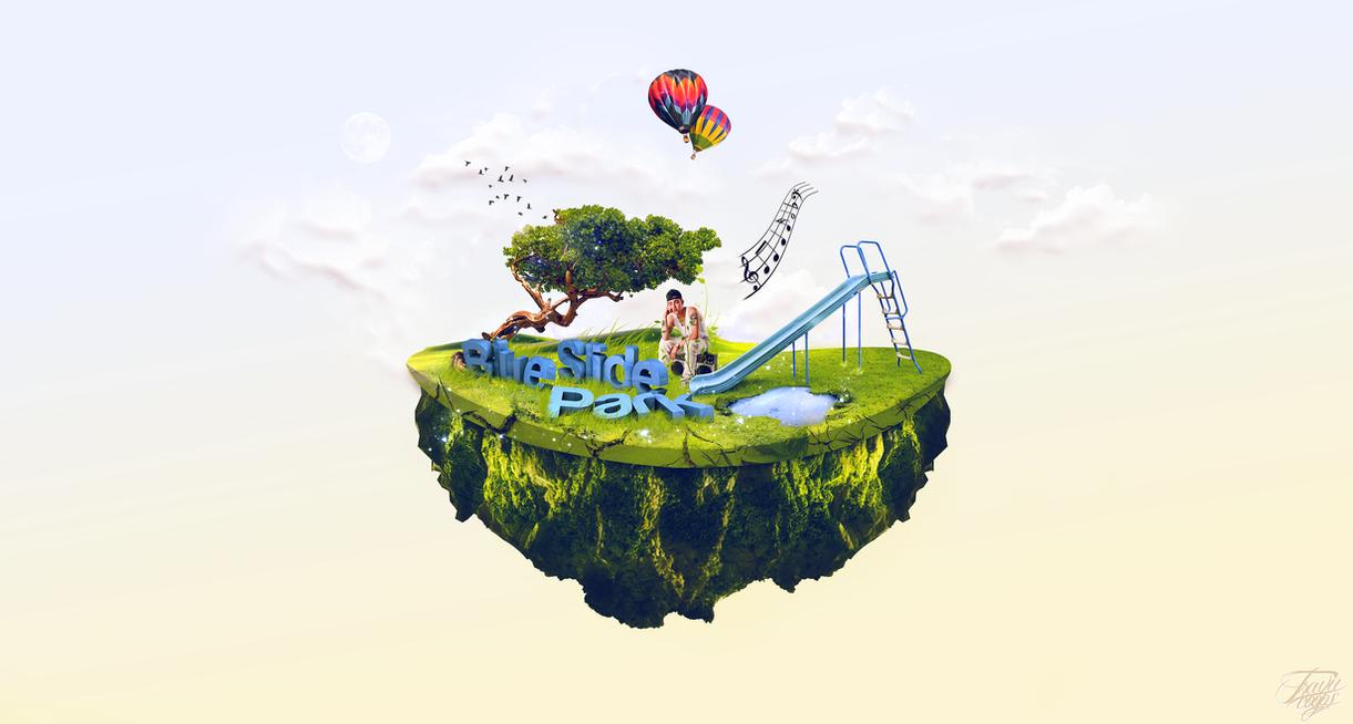 Mac miller - blue slide park wallpaper by TraviiGFX