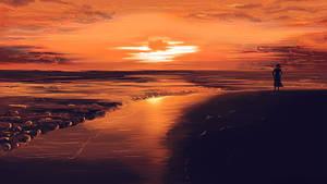 Sunset Tag