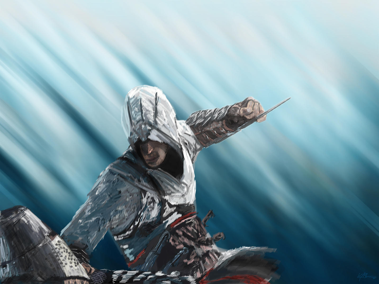 Assassins Creed Painting by FT69