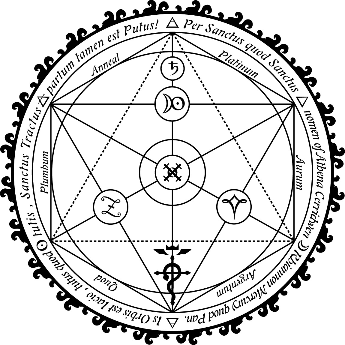 Transmutation Circle by FT69