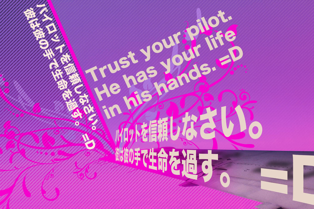 Trust your pilot by FT69