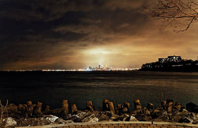 Cleveland from a far